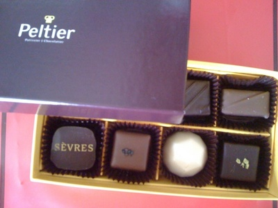 ペルティエのチョコレート