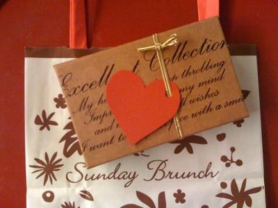 サンデーブランチのチョコレートパッケージ