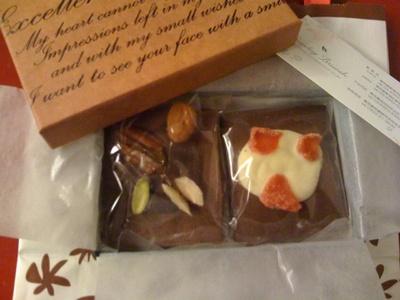 サンデーブランチのチョコレート
