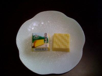 チロルチョコ北海道チーズ