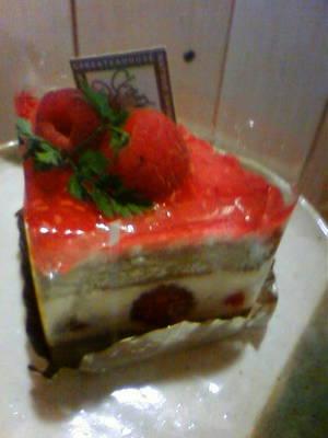 松江の洋菓子店シェ・ブランのケーキ
