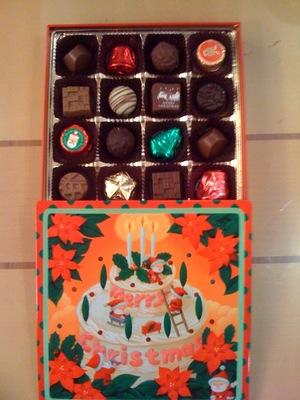 モロゾフ クリスマスファンシーチョコレート2010