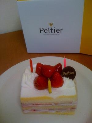 ペルティエ ショートケーキ